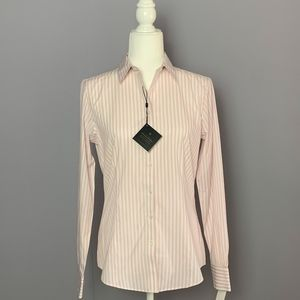 NWT Brooks Brothers Non-Iron Stretch Button Down